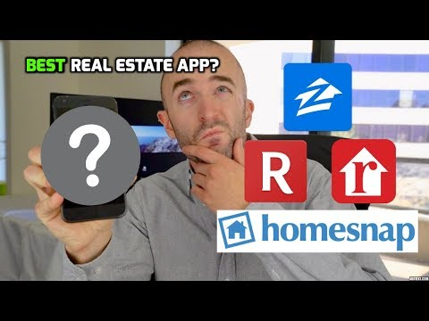 BEST Real Estate Apps 2018 for Finding a Home