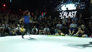 Sarah Bee & Kate - Finał Bgirl  1vs1 na  Outbreak Europe 2017