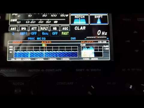 Listening EA3HZX from Espana on 10 meters band