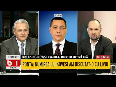 DOSAR DE POLITICIAN- Liviu Dragnea: Regret că Victor a generat și întreține o campanie împotriva mea