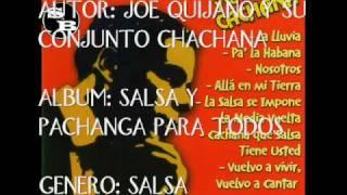 JOE QUIJANO '' VUELVO A VIVIR, VUELVO A CANTAR''