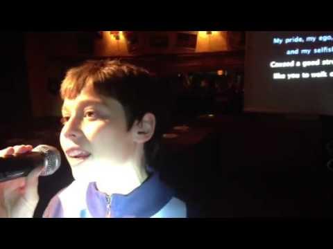 Mateo 15 años en Punta del Este Karaoke