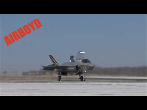 F-35 Vertical Landing With Test Pilot Commentary