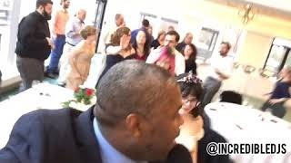 Wedding Entertainer #JeanTheWeddingCoach Leads Conga Line to The Wedding Cake Shenandoah Valley Golf