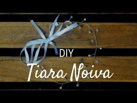 Tiara Noiva - DIY - Faça você mesmo - Thais Cavalcante