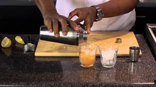 Apple Rum Ricky Cocktail - Cooking Today With Chef Brooks