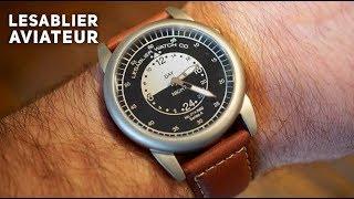 LeSablier Aviateur Pilot Watch review