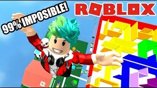 the Roblox Obby easier | Roblox Karim games play
