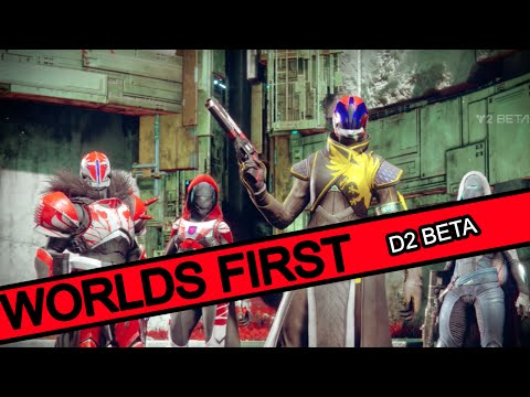 Worlds First Ability Kills Only DESTINY 2 BETA