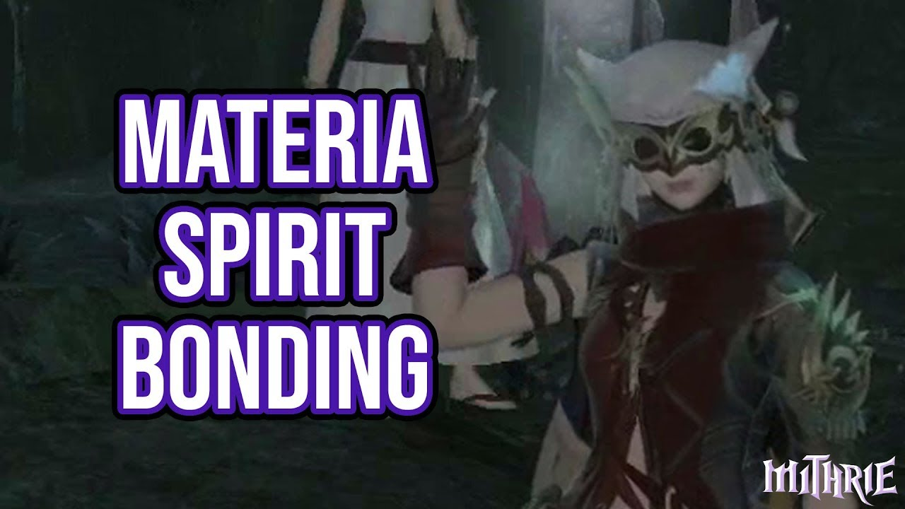 FFXIV 2 3 0371 Materia Farming (Spiritbonding)
