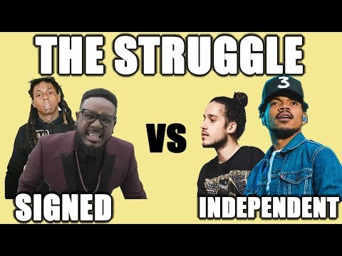 The Struggles Of Being Independent vs Record Label Pains