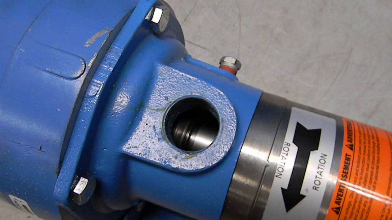 Gould Booster Pump 10GBC1512Q0 - YouTube on