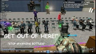"""""""GET OFF THE STAGE!"""" - DarkRP Talent Show Trolling"""
