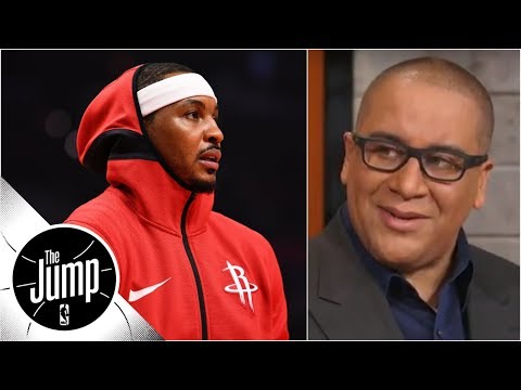 Rockets source says Carmelo Anthony 'is a scapegoat'  Marc J. Spears  The Jump