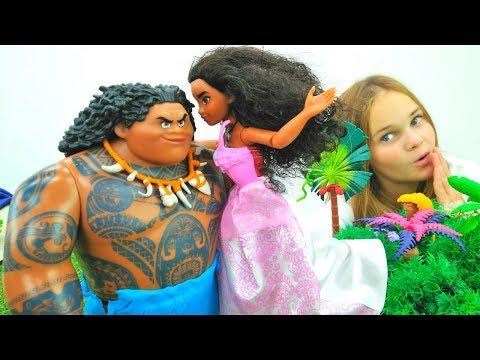 Мультфильм смотреть бесплатно моана и мауи