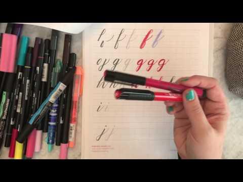 Brush Lettering - Episode 1