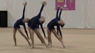 Групповые упражнения  БП Художественная гимнастика. Первенство ФСО