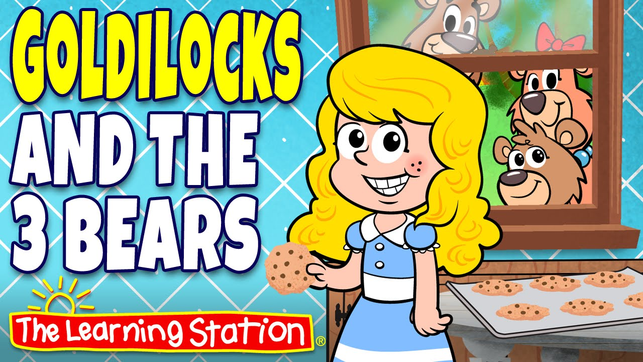 Uncategorized The 3 Bears Story goldilocks and the three bears fairy tales story time for kids by learning st
