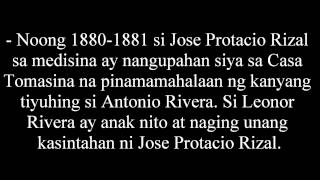 Talambuhay Ni Jose Rizal