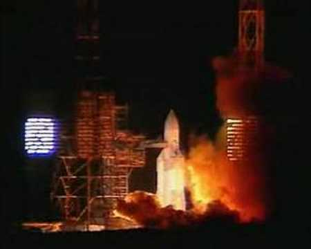 Nearly a disaster. Energia rocket first launch with Polyus.