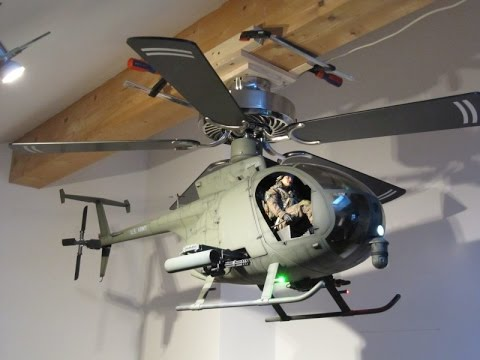 Boeing Hughes AH-6 'Little Bird' Helicopter Ceiling Fan ...