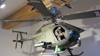 Boeing Hughes AH-6 'Little Bird' Helicopter Ceiling Fan FULL SCALE