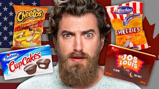American vs. Canadian Snacks Taste Test