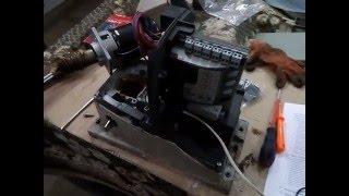 видео ремонт секционных ворот