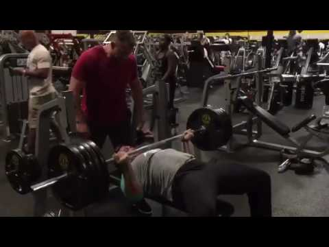 Reverse Barbell Bench Press For Triceps Youtube