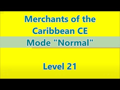 Merchants of the Caribbean CE Level 21 |