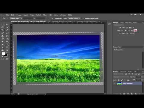 Enderezar Una Foto Con Photoshop CS6 [Straighten]