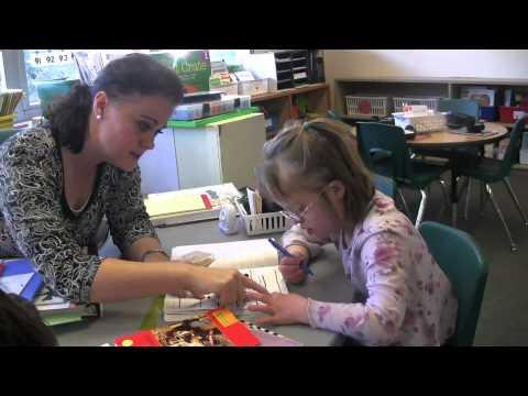 Abigail Meyer at Kohl Elementary School