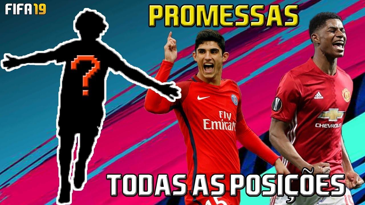 FIFA 19 - Jogadores Promissores  9 - Todas as Posições - YouTube 2bf00a4da7e3c