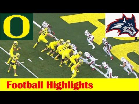 Stony Brook vs #4 Oregon Football Game Highlights 9 18 2021