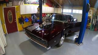 Taking a Drive in the Whipple Supercharged 1968 Charger!
