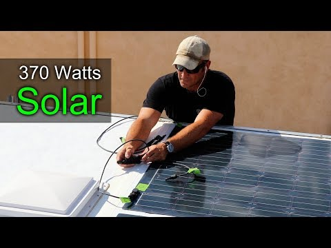 how-to-build-a-diy-travel-trailer---solar-panel-install-(part-11)