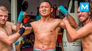 MUAY THAI MONSTER - Saenchai | Muscle Madness