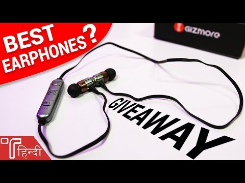 [GIVEAWAY] Best Budget Bluetooth Earphones in India? - Gizmore Earphone Review!