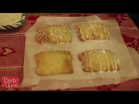 How to Make Quick Cherry Turnovers with a Quick & Easy Glaze - YouTube