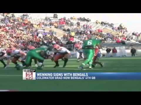 Bengals Sign Former Coldwater QB Keith Wenning