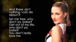 Glee - You Keep Me Hangin