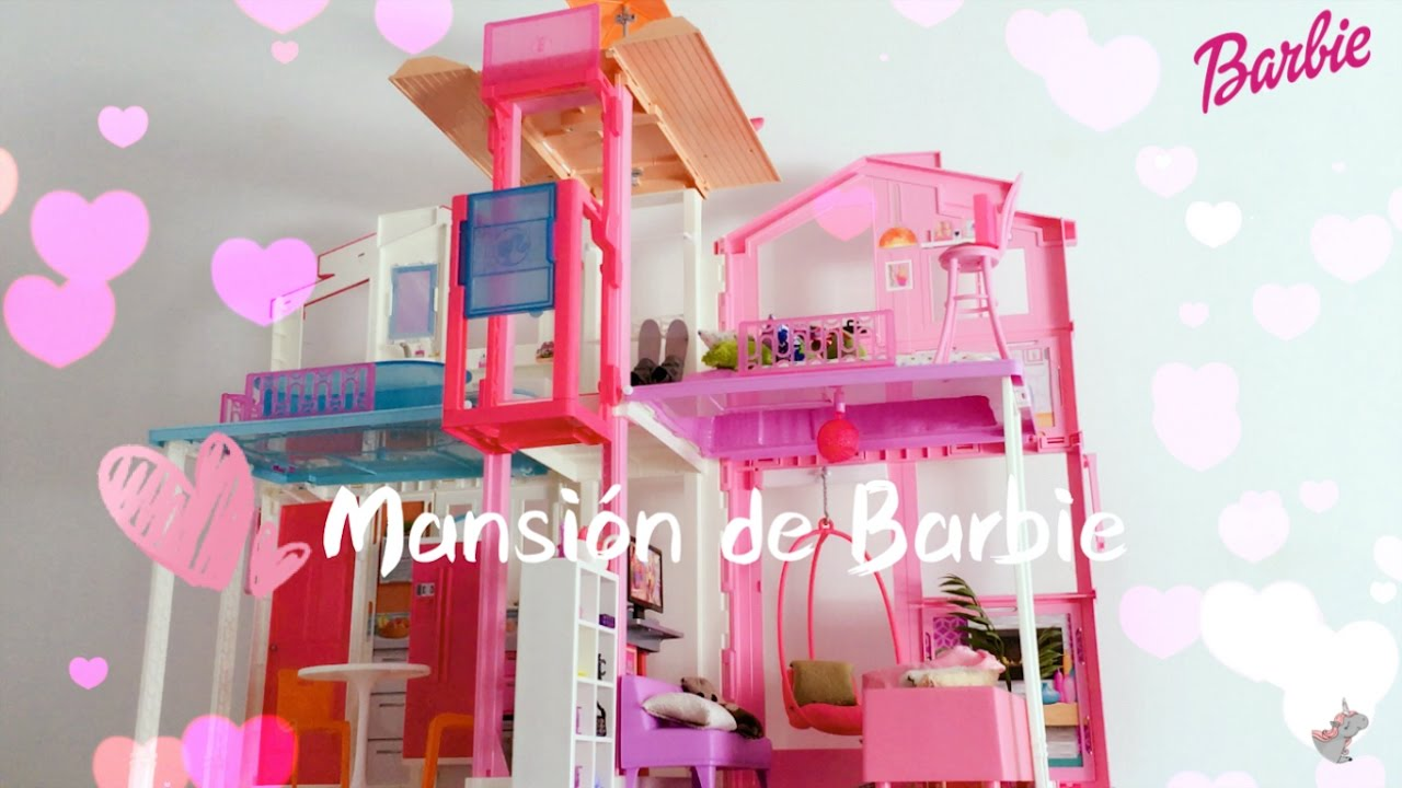 Decora la mansi n de barbie casa de mu ecas dreamhouse for La mansion casa hotel telefono