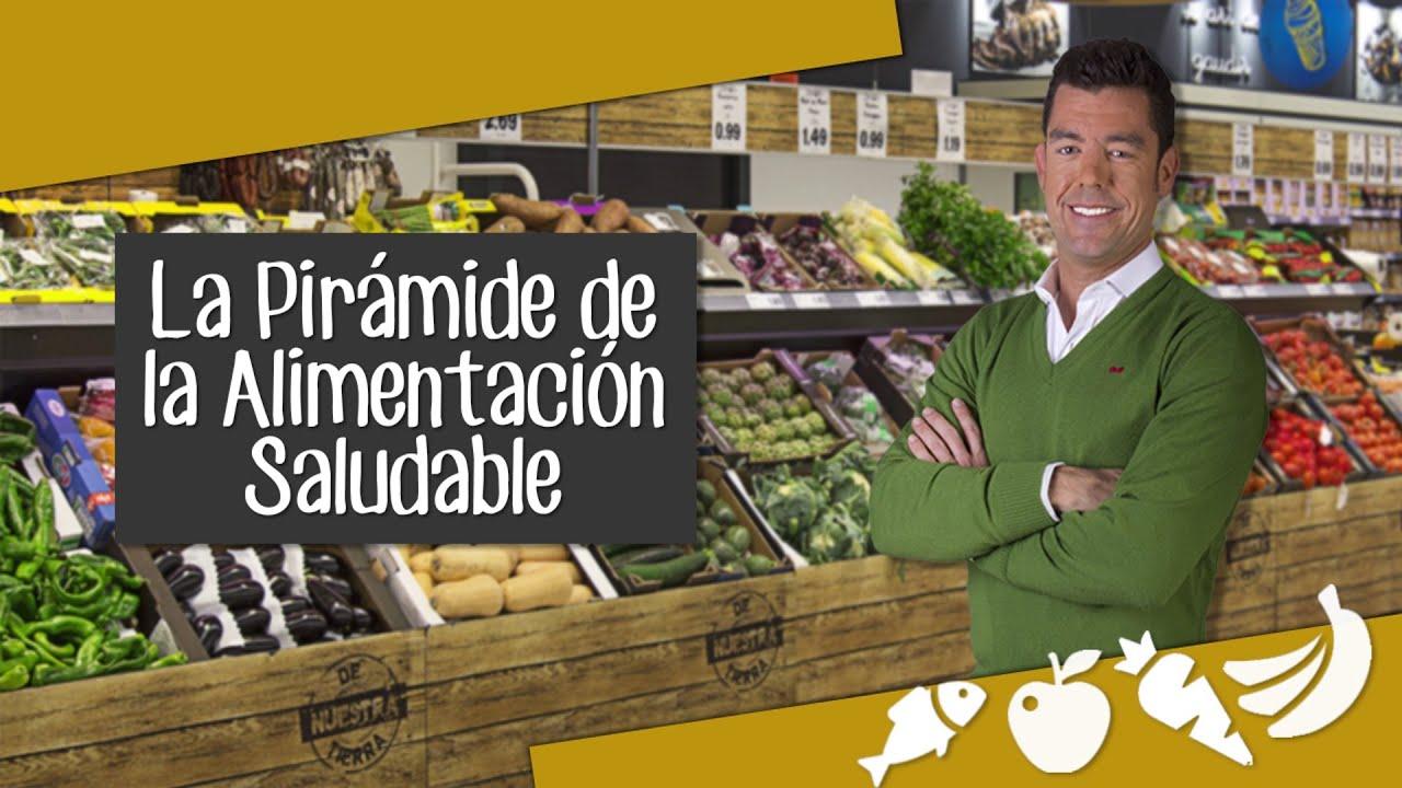 Consejos de nutrici n la pir mide de la alimentaci n saludable lidl espa a youtube - Piramide de la alimentacion saludable ...