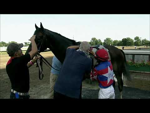 video thumbnail for MONMOUTH PARK 07-25-20 RACE 11 – MALOUF AUTO GROUP STARTER #2