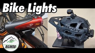 MTB Lights for Night Riding | Light and Motion VIS 1000 Custom and VIS 360 Pro Bike Lights