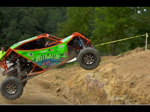UTV RACERS HIT THE LEAP OF FAITH AT RUSH OFFROAD PARK