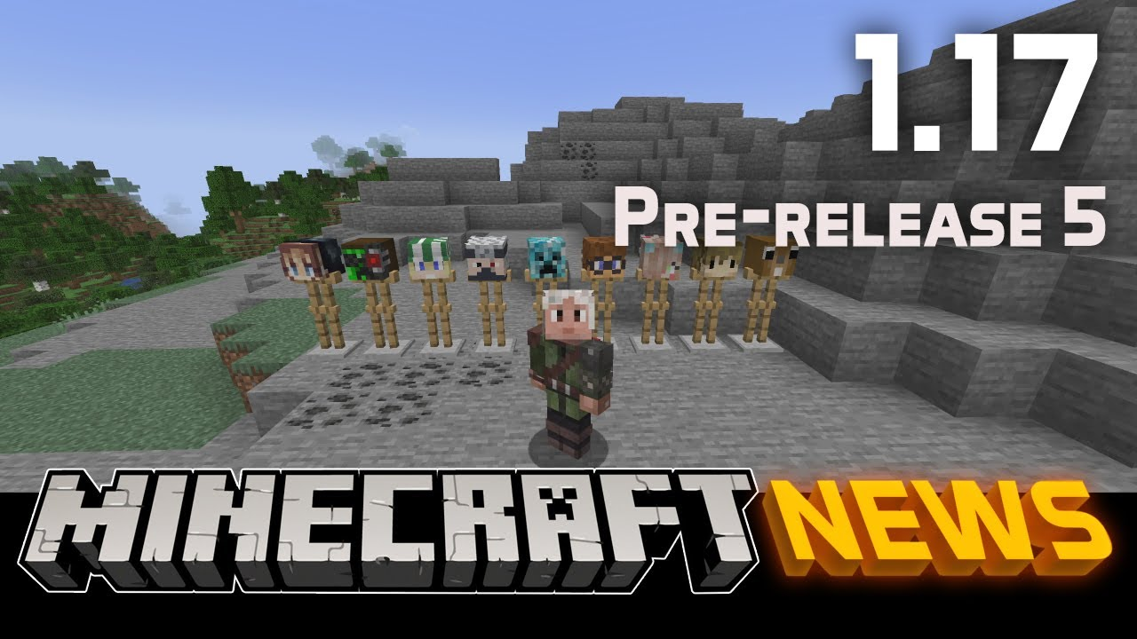 What's New in Minecraft 1.17 Pre-release 5?