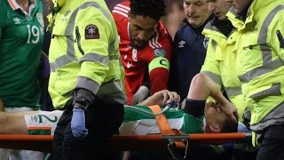 Seamus Coleman | Seamus Coleman set for surgery after suffering broken leg - Sky sources