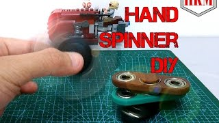 hand spinner fidget spinner diy tutorial easy