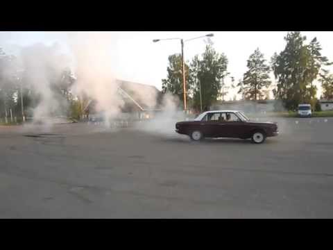 Rambler American V8 stroker burnout
